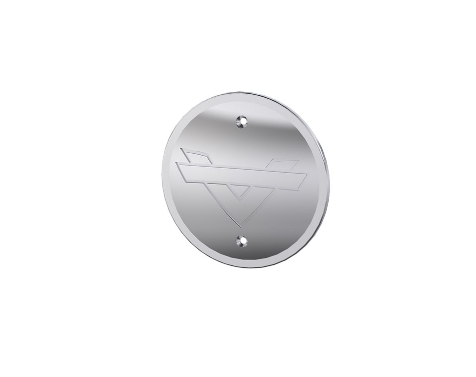 Shadow Collection Engine Cover - Chrome 2881748-156