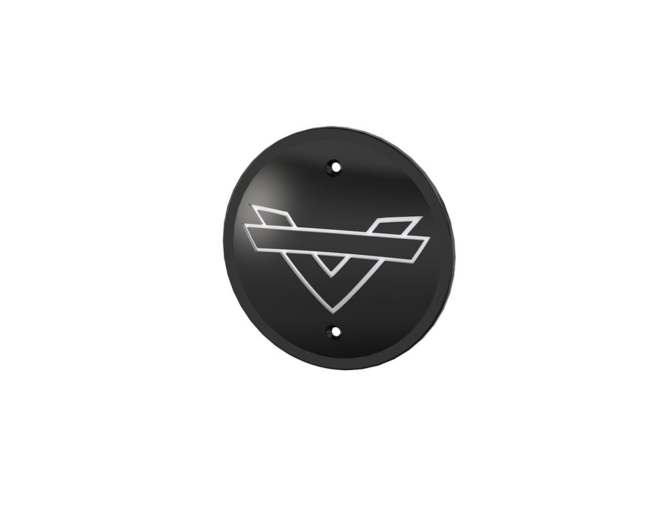 Shadow Collection Engine Cover - Black 2881748-266
