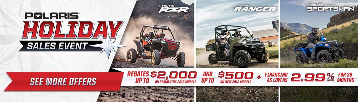 ORV Holiday Sales Event