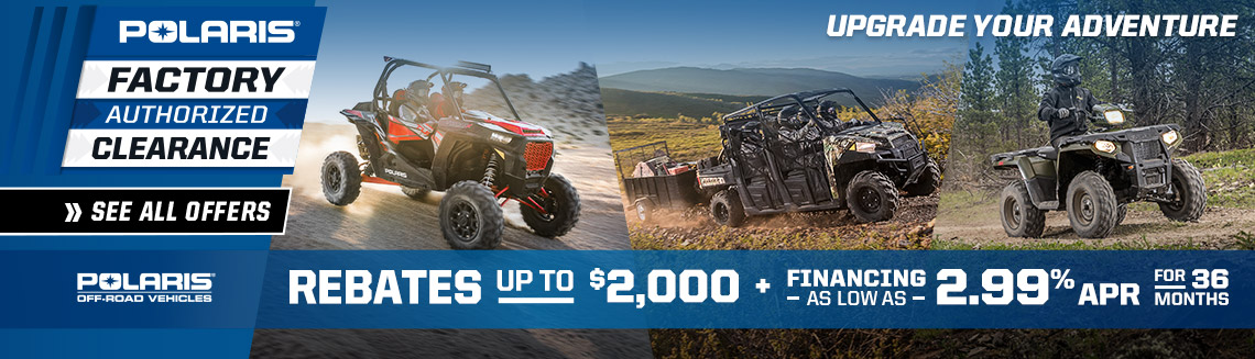 ORV Summer Sales Event