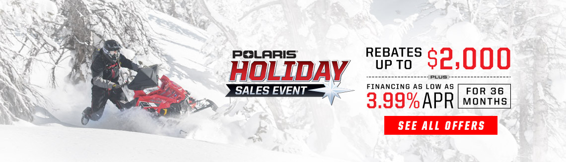 SNO Holiday Sales Event