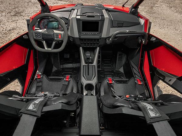 RZR interior