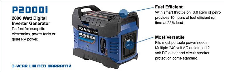 2000 watt digital inverter generator
