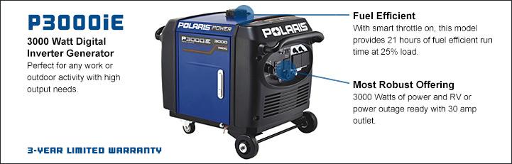 3000 watt heavy duty generator