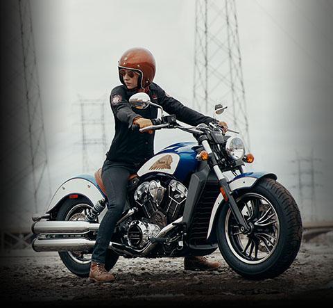 2017 indian scout motorcycle thunder black. Black Bedroom Furniture Sets. Home Design Ideas