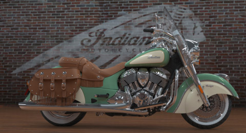2017 Indian Chief Vintage Motorcycle