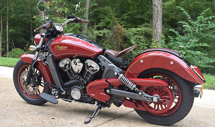 Custom Bike 2018 Indian Scout