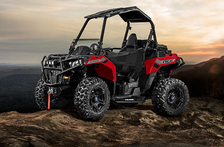 Polaris ACE<sup>®</sup> 500 Indy Red