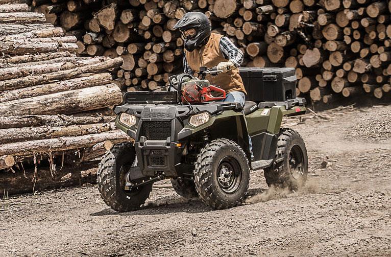 2017 Sportsman 570 ATV - Sage Green | Polaris