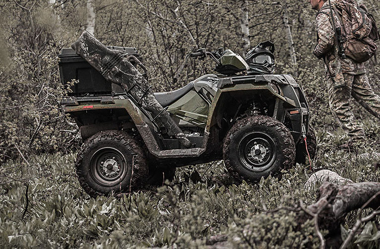 Sportsman<sup>®</sup> 570 EPS Polaris Pursuit® Camo