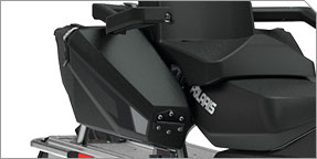 Adventure Cargo System - Aluminum Rack, Lock & Ride® Saddlebags