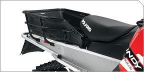 Optional Extreme Rear Cargo Rack and Liner