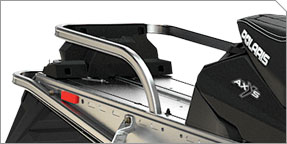 Porte-bagages et rangement intégrés