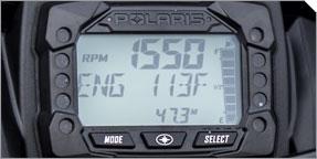 NOUVEL indicateur de centre de messages de Polaris