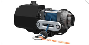 Integrated 1500 lb. Winch Accessory