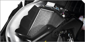 Polaris® TITAN™ Cooling System with Radiator & Brake System