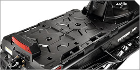 Integrated Lock & Ride® Versa Storage Platform