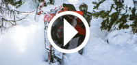 SnowTrax Mountain Sled Shootout