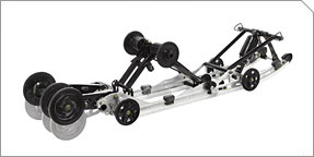 Articulated Rear Suspension