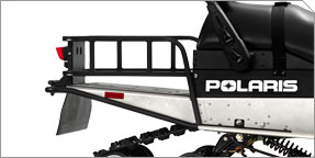 Rear Cargo Rack and Hinged Style Tow Hitch