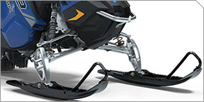 ALL-NEW AXYS® PRO-RMK® React Front Suspension