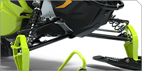 Narrow, Adjustable Front End