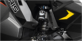Polaris® TITAN™ Articulated Rear Suspension