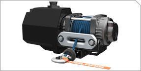 Integrated 1500 lb. Winch Accessory