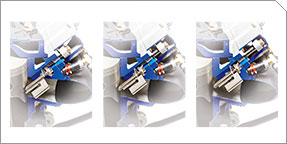 3-Stage Electronically-Controlled Exhaust Valves