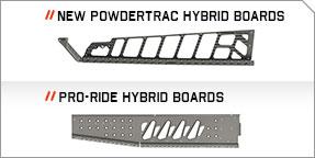PowderTrac™ Hybrid Running Boards