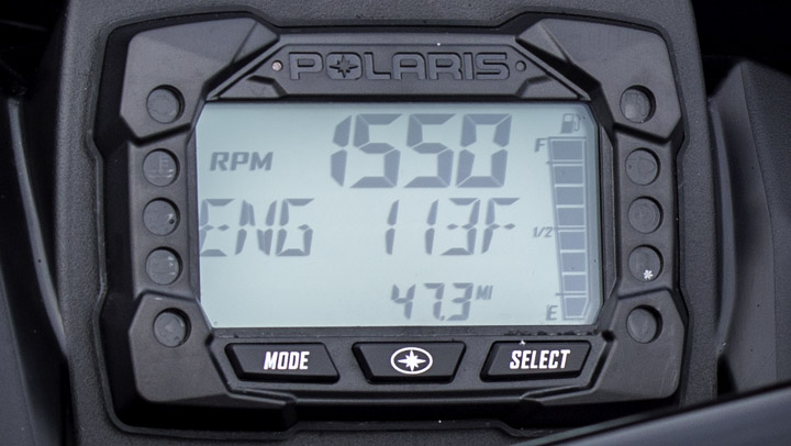 Polaris MessageCenter Gauge