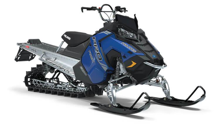 2019 Polaris 600 Pro Rmk 155 Snowmobile