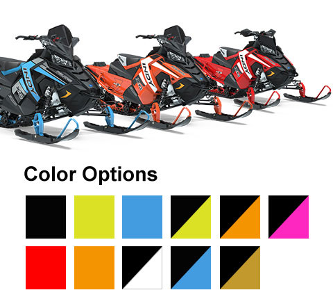 Polaris Snowmobiles - Indy Color Options