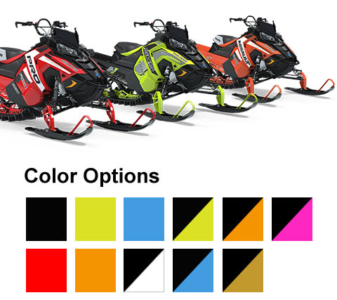 Polaris Snowmobiles - RMK Color Options
