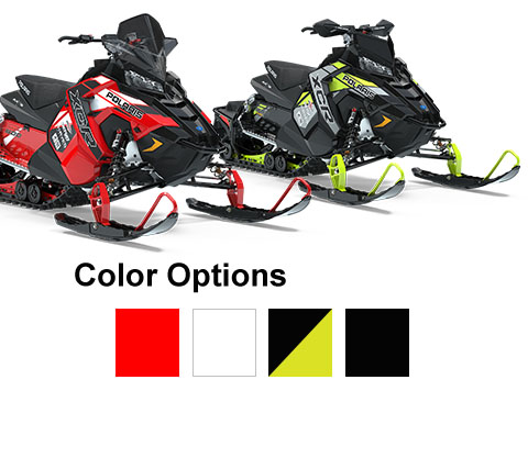 Polaris Snowmobiles - RUSH Color Options