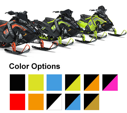 Polaris Snowmobiles - Switchback Color Options