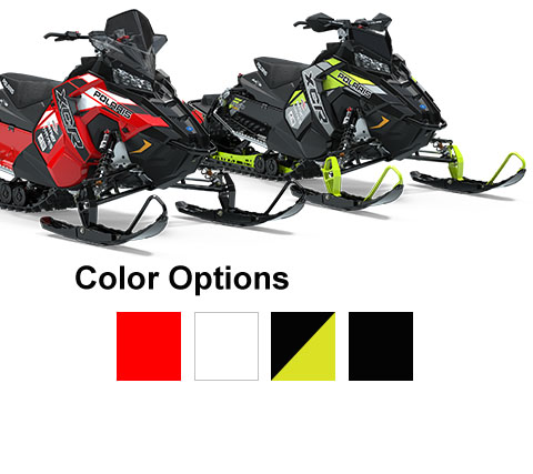 Polaris Snowmobiles - Switchback XCR Color Options