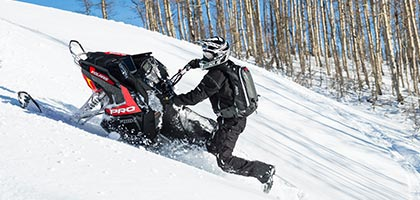 It's almost like an extension of your body and it's easy to feel connected to this sled