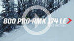 800 PRO-RMK 174 LE: Rider Reactions