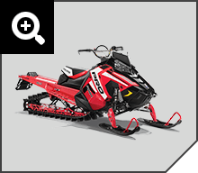 PATENTED RAISED AXYS® RMK® CHASSIS