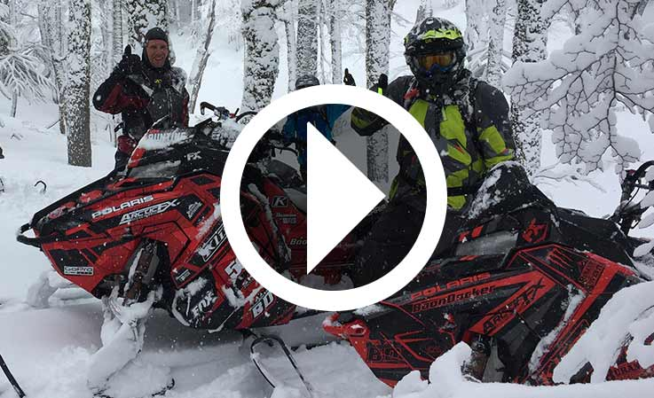 Chris Burandt Snowmobiles in South America