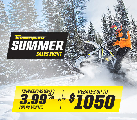Financing As Low as 3.99% for 48 Months + Rebates Up to $1,050