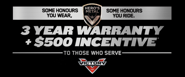 Victory Motorcycles Introduces HERO'S METAL